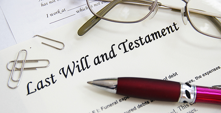 A Last Will and Testament is most important.